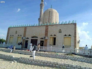 Atentado contra mesquita no Egito mata ao menos 235 pessoas