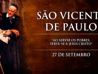 Hoje é celebrado São Vicente de Paulo, padroeiro das obras de caridade