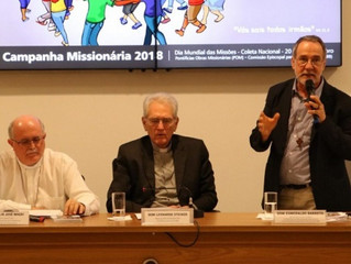 Coleta Missionária, dias 20 e 21/10, visa apoiar o trabalho missionário da Igreja no mundo
