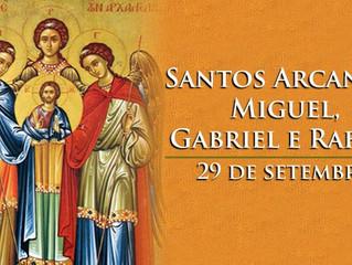 Hoje a Igreja celebra os santos arcanjos Miguel, Gabriel e Rafael