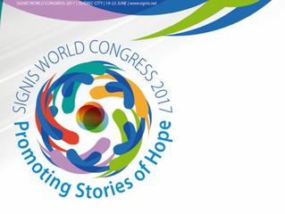 Signis realiza congresso no Canadá e grupo brasileiro apresenta experiência do rádio