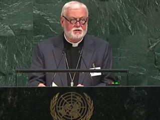 Santa Sé pede ante a ONU construir a paz baseada no respeito ao meio ambiente