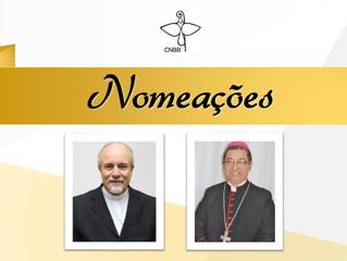 Papa Francisco aceita renúncias e nomeia dois bispos na manhã desta quarta-feira, 20
