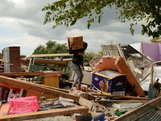 Terremoto e tsunami deixaram 384 mortos na Indonésia