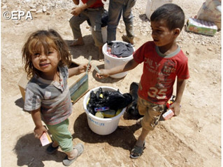 Aleppo: oração das crianças para implorar o fim dos massacres