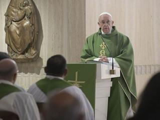 Papa Francisco: insultar é um costume que mata