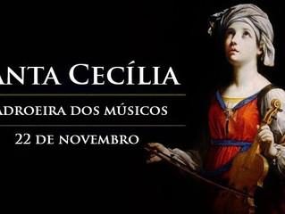 Hoje é celebrada Santa Cecília, padroeira dos músicos