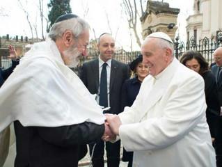 Papa Francisco saúda judeus pelas festividades de Rosh Ha Shaná, Yom Kipur e Sukkot
