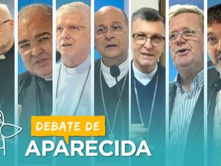 Bispos que representam a CNBB no debate