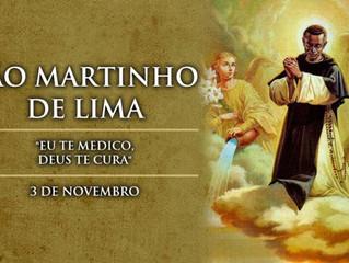 Hoje é celebrado São Martinho de Lima, o santo da vassoura