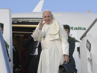 Papa Francisco inicia a 24ª Viagem Apostólica de seu Pontificado