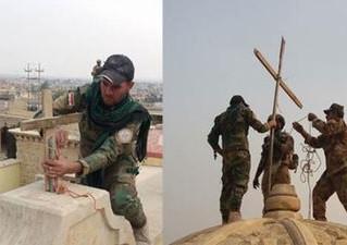 """O """"Povo da Cruz"""" está recuperando o Iraque"""