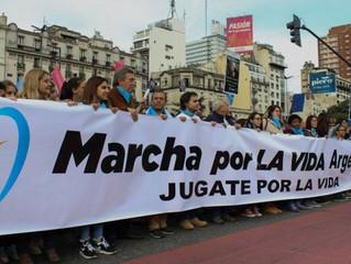 Anunciam nova Marcha pela Vida na Argentina