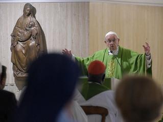 Papa: ser sal e luz é o testemunho diário do cristão