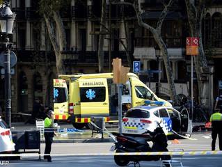 Atentado em Barcelona deixa mortos e feridos