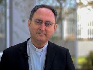 Presidente da CNBB, cardeal Sergio da Rocha, saúda a abertura do Ano Nacional do Laicato na Festa do