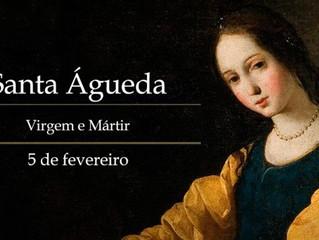 Hoje é celebrada Santa Águeda, virgem e mártir