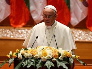 Papa: compromisso com a justiça e respeito pelos direitos humanos