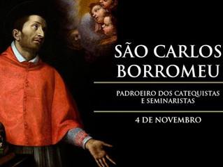 Hoje é celebrado São Carlos Borromeu, patrono de São João Paulo II