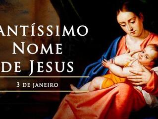 Hoje é celebrado o Santíssimo Nome de Jesus