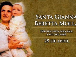 Hoje é a festa de Santa Gianna, padroeira das mães, médicos e crianças por nascer