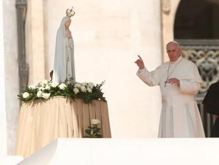 Papa Francisco exorta a cumprir pedido da Virgem de Fátima e rezar o Rosário pela paz