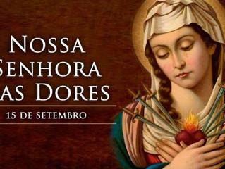 Hoje a Igreja celebra Nossa Senhora das Dores