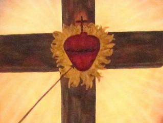 Por que Jesus permitiu que transpassassem seu Sagrado Coração na cruz?