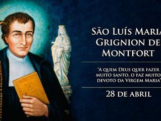 """Hoje é celebrado São Luís Maria Grignion de Montfort, o """"escravo de Maria"""""""