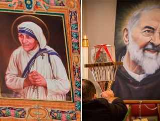 A essência de Madre Teresa e Padre Pio? Isto diz um Cardeal diante do coração do santo