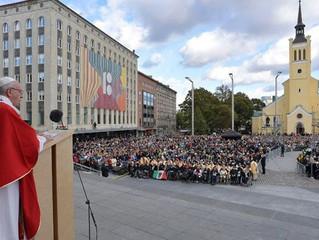 Papa na Estônia, o país menos religioso da Europa: não temam evangelizar os que não têm fé