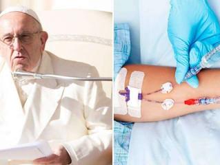 A eutanásia sempre é ilícita porque procura a morte, afirma o Papa Francisco