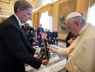 Papa: Brasil precisa que os seus padres sejam sinal de esperança