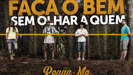 """Banda curitibana Regga-me acaba de lançar seu primeiro single""""Faça o bem"""""""