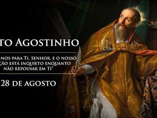 Hoje é celebrado Santo Agostinho, Doutor da Igreja
