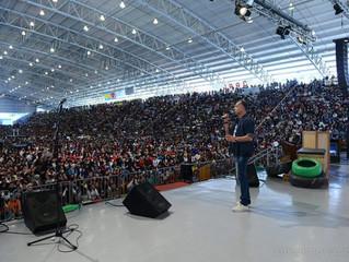 Dunga fala sobre o tema central do Acampamento PHN