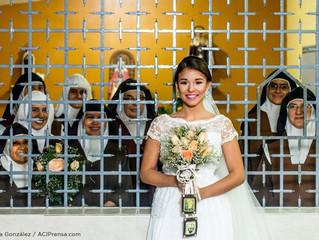 Religiosas de clausura surpreendem noiva com o presente perfeito de casamento