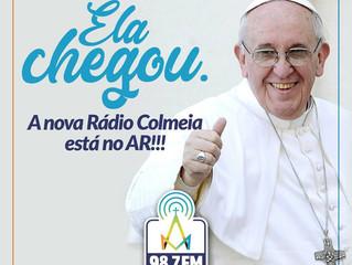 A primeira FM católica de Maringá está no ar. Colmeia 98,7 FM