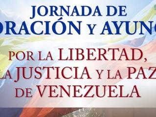 Bispos da Venezuela convocam a população para Oração e Jejum no dia 21 de julho