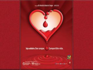 Dia Mundial do Doador de Sangue: acesso oportuno a sangue seguro