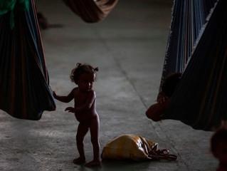 Venezuela: 17% das crianças com menos de 5 anos sofrem desnutrição