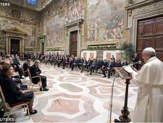 Papa: Europa precisa reencontrar o espírito de família