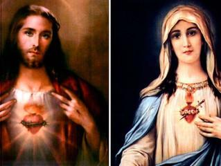 Consagre sua família aos Corações de Jesus e de Maria