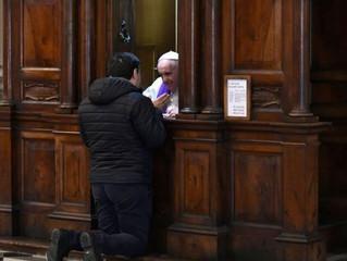 Tenham coragem de se confessar na Semana Santa, incentiva o Papa