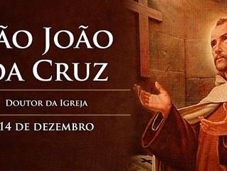 Hoje é celebrado São João da Cruz, doutor da Igreja