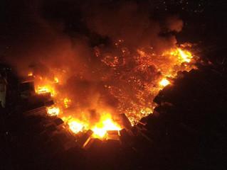 Arquidiocese convoca à solidariedade após incêndio atingir 600 casas em Manaus
