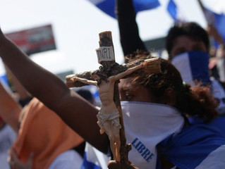 Uma oração pela Nicarágua