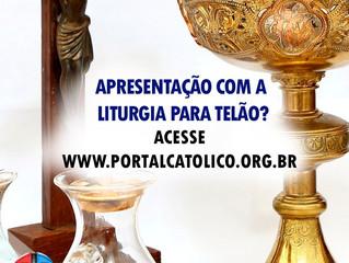 Projeto Telão: 14.05.2017 - 5 Domingo Páscoa