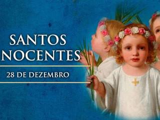 Hoje são celebrados os Santos Inocentes, crianças que morreram por Cristo
