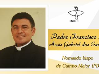 Papa nomeia bispo para a diocese de Campo Maior (PI)